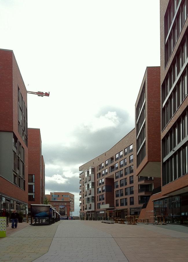 Überseequartier Hamburg Nordseite
