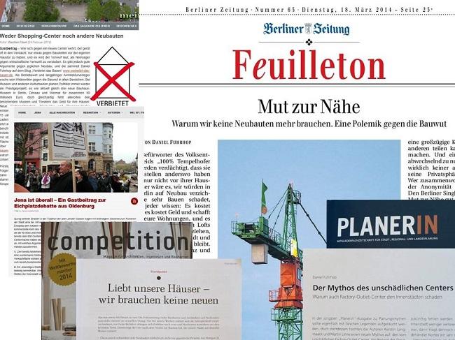 Collage Zeitungsartikel