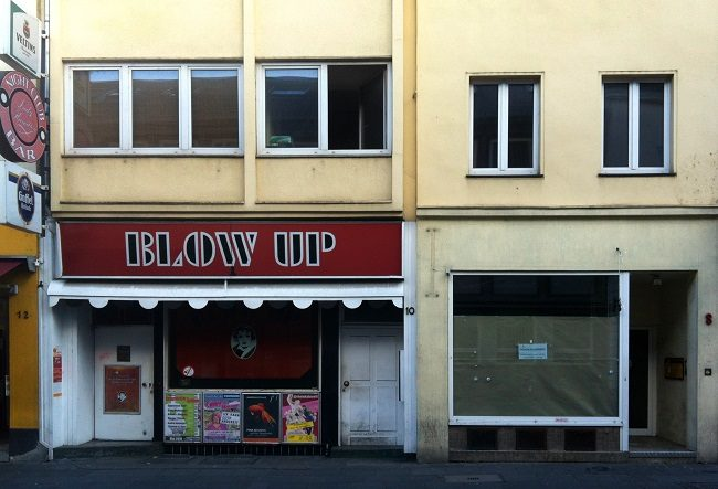 Blow Up Bonn Fassade