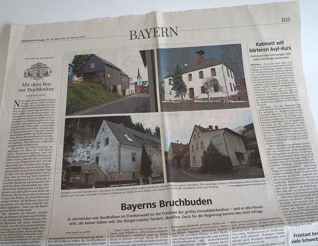 Süddeutsche Artikel Bruchbuden