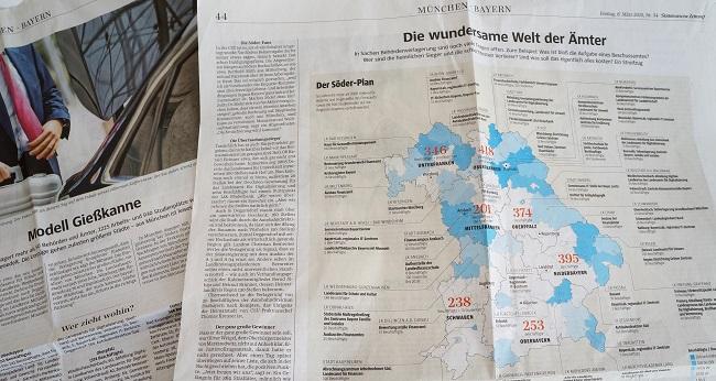 Süddeutsche Zeitung Artikel Söder-Plan