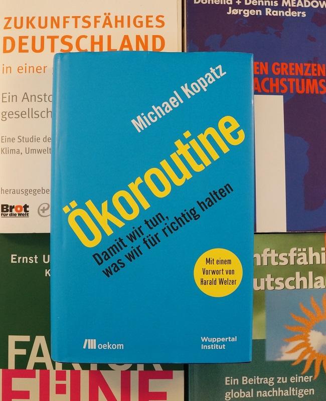 Cover Buch Ökoroutine
