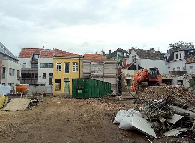 Burgstraße 5 Oldenburg nach Abriss