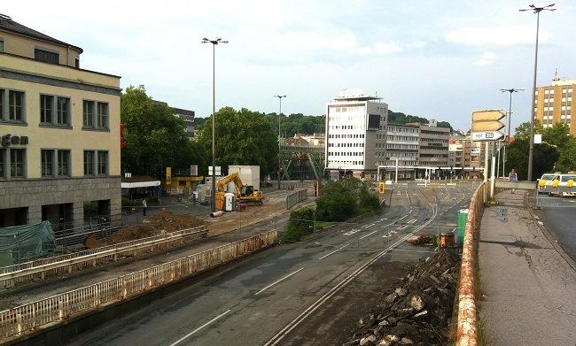Wuppertal Döppersberg im Umbau