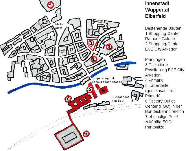 Skizze vom Döppersberg