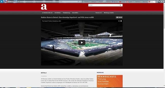 Screnshot von architekturvideo.de