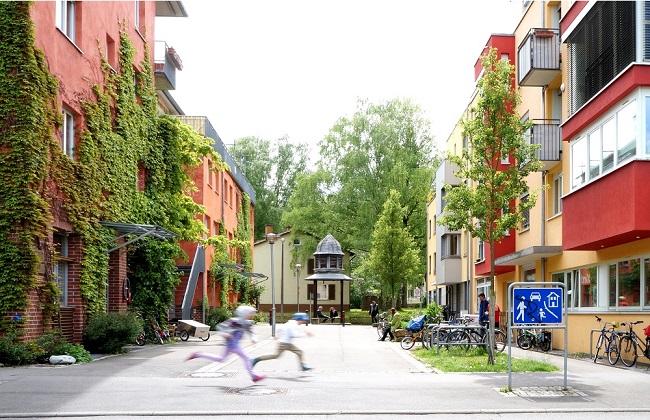 Querstraße Französisches Viertel