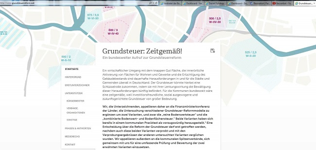 screenshot Grundsteuerreform