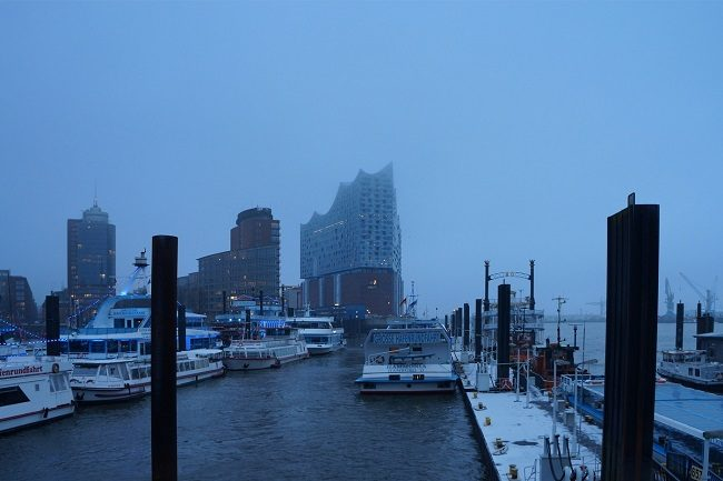 Elbphilharmonie am Hafen
