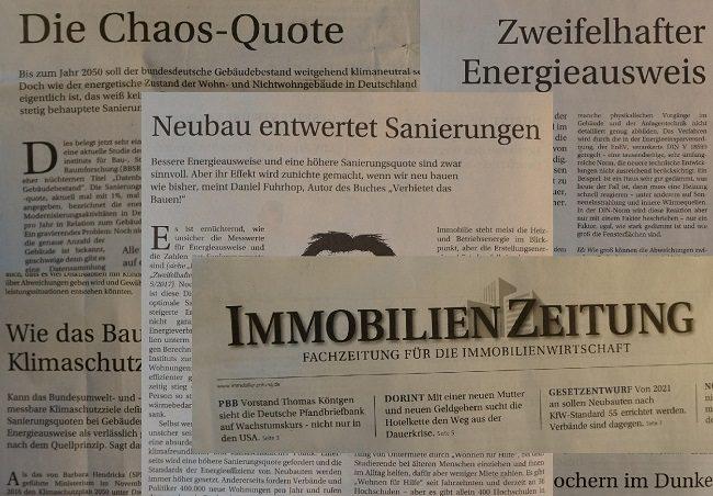 Immobilien Zeitung Collage