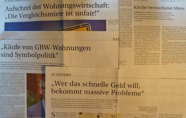 Artikel Immobilien Zeitung