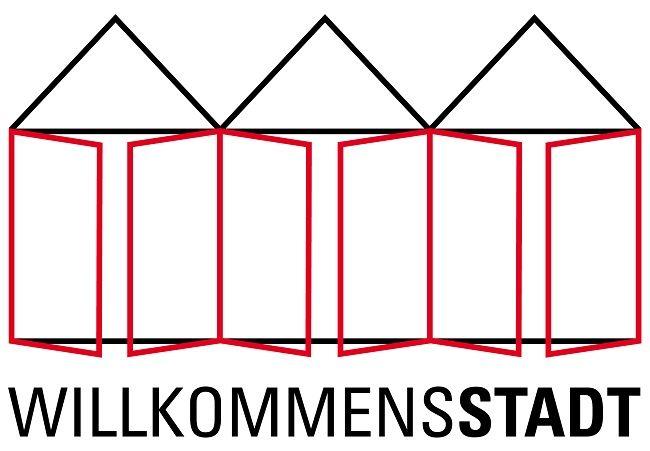 Willkommensstadt-Logo
