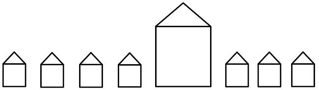 Häuschen Grafik