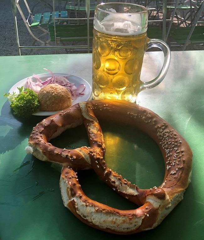 Brezn und Bier