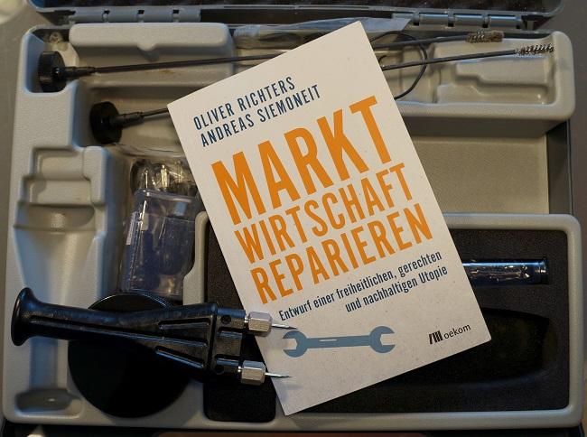 Cover Buch Marktwirtschaft reparieren