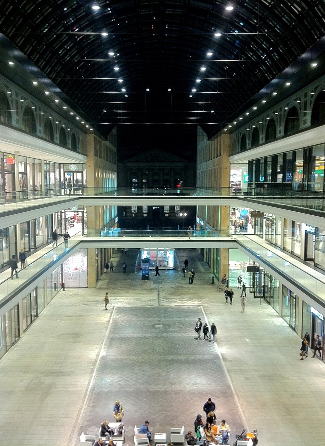 Mall of Berlin oben