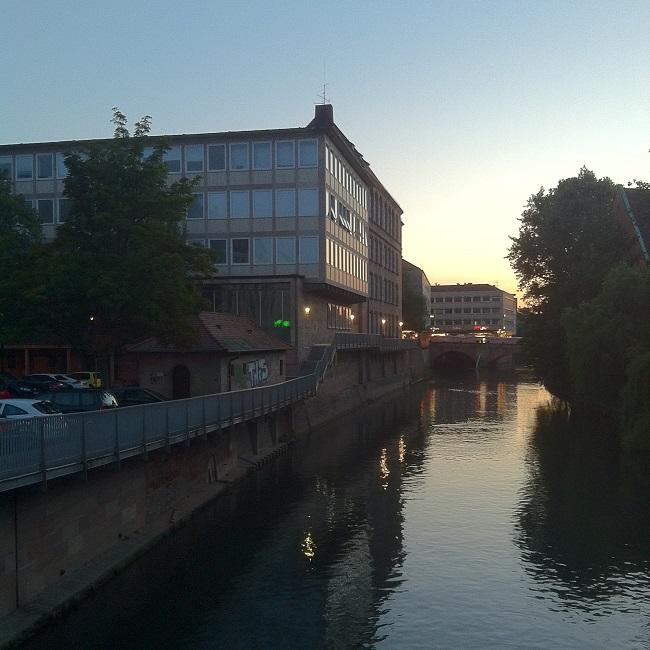 Foto Nürnberg und Pegnitz