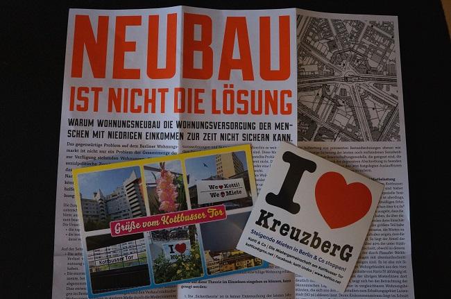 Bilder Flyer vom Kottbusser Tor
