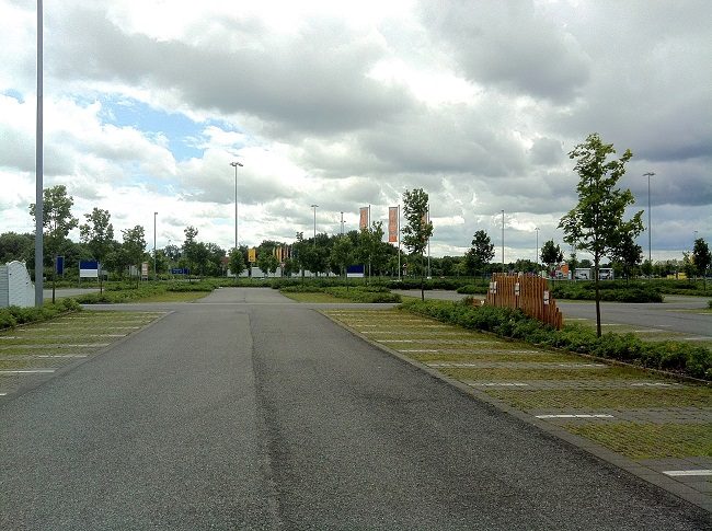IKEA homepark Parkplatz