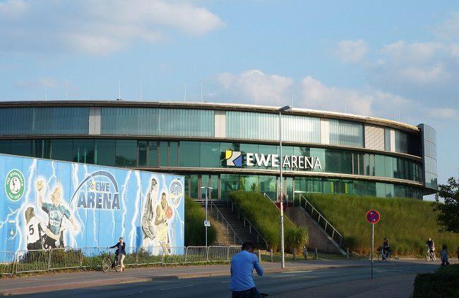 Alte oder kleine Arena Oldenburg.