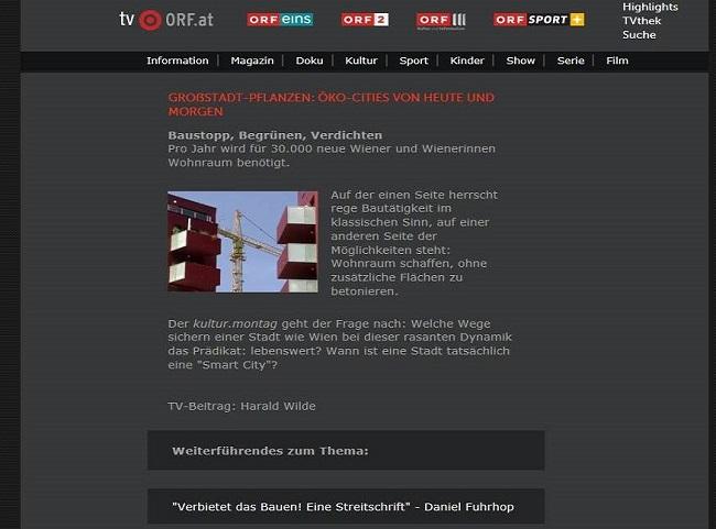 Screenshot ORF2.