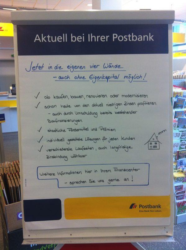 Postbank Werbung komplett