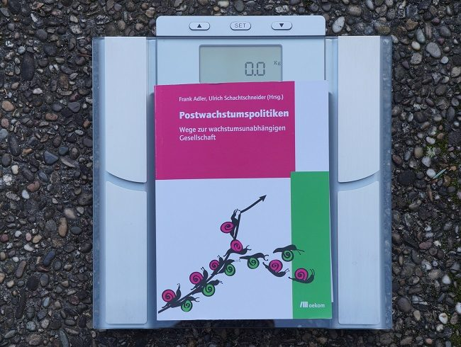 Cover Buch Postwachstumspolitiken