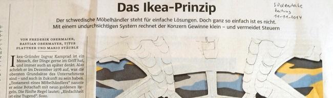 Süddeutsche Titel Ikea