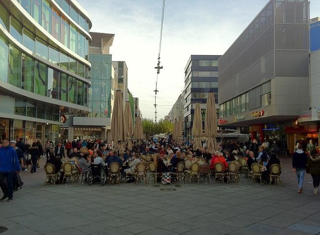 Fußgängerzone Saarbrücken