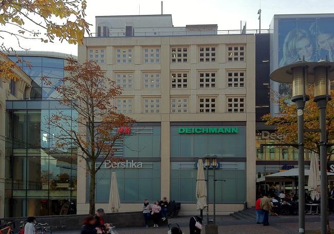 ECE Center Saarbrücken Ostseite