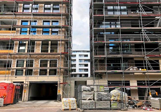 Neubau in Stuttgart