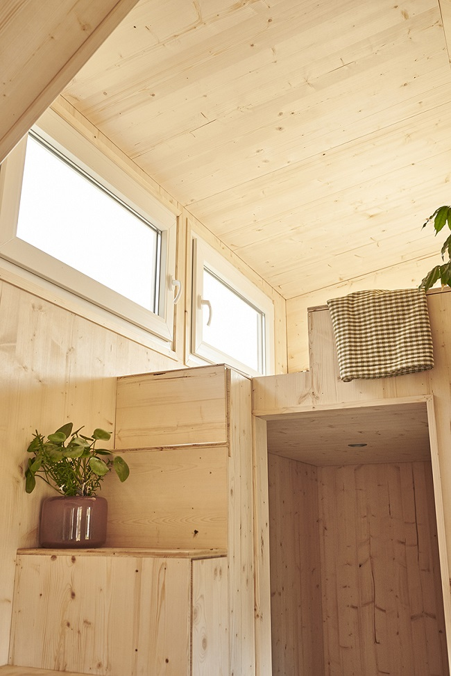 Tchibo Tiny House innen