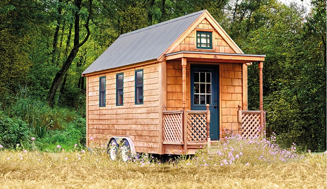 Tchibo Tiny House außen