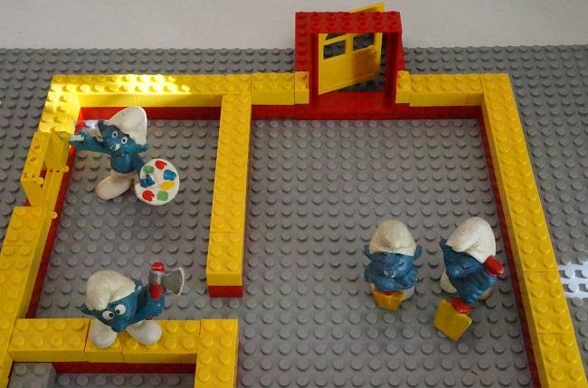 Grundriss Lego