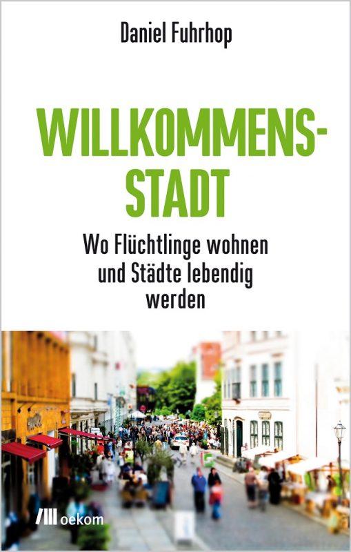 Cover Buch Willkommenstadt