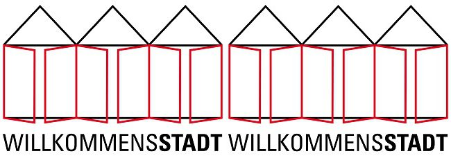 Logo Willkommensstadt