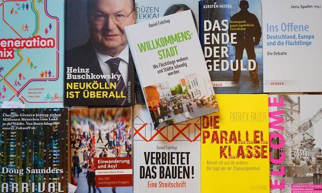 Cover verschiedener Bücher