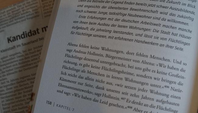 Ausschnitt Willkommensstadt-Buch