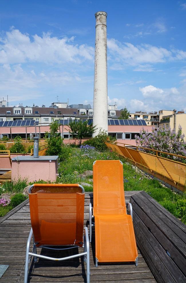 Dachgarten Miss Sargfabrik