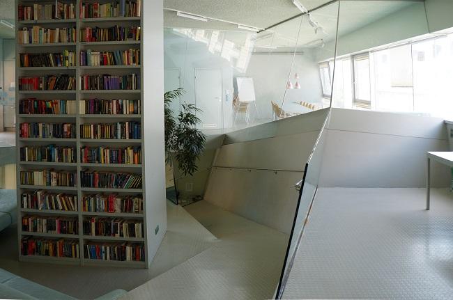 Bibliothek.