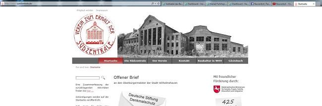Vereins-screenshot Südzentrale Wilhlemshaven