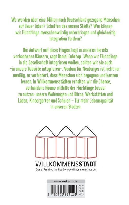 Rückseite Buch Willkommensstadt