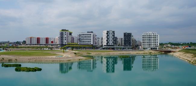 Foto der Seestadt Aspern