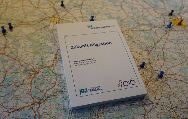 Cover Buch Zukunft Migration