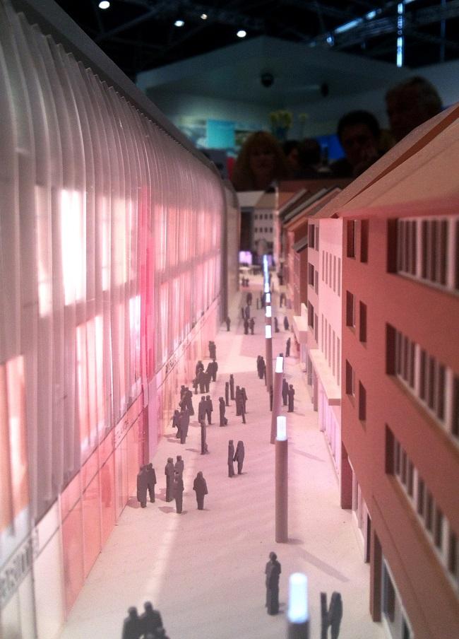 Modellbild ECE Center Aachen