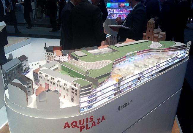Modellbild ECE Aachen außen