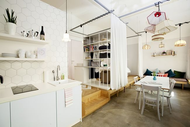 Raum im Grätzlhotel Wien