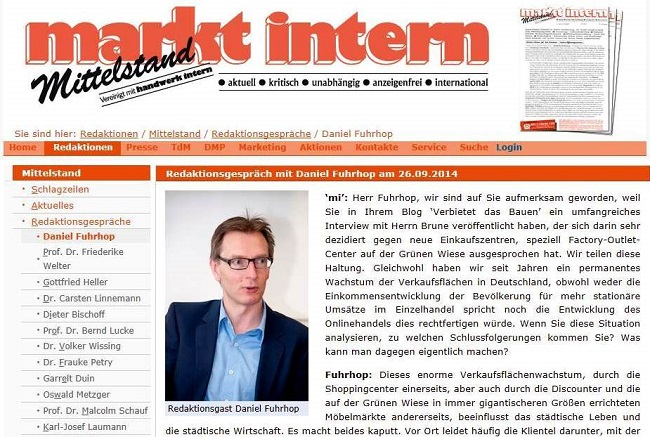 "Screenshot ""markt intern"""