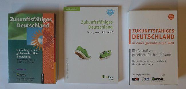 Cover Bücher und Magazin Zukunftsfähiges Deutschland